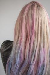 Макияж для волос Hairchalk