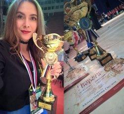 Поздравляем с победой Оксану Монастыреву!