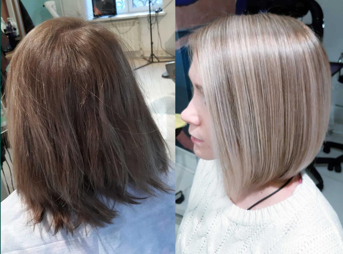 вот меня курсовая парикмахера фото до и после правило, картинку распечатывают
